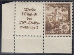 DR W 135,  Postfrisch **, WHW Ostmarklandschaften Und Blumen 1938 - Se-Tenant