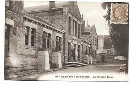VILLENEUVE SUR BELLOT - La Mairie Et Ecoles - Sin Clasificación