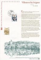 """"""" VILLENEUVE-LEZ-AVIGNON """" Sur Document Philatélique Officiel 1°Jour De 2010. N° YT 4443. (Prix à La Poste = 5.00 €) DPO - Documents Of Postal Services"""