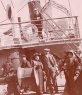 Marseille-Alger C.1910 Sur Le Bateau Paquebot Maréchal Bugeaud  Photo 9x15cm - 2 Scans - Bateaux