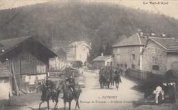 FAYMONT - Le  Val D'Ajol: Passage De Troupes - Artillerie Montée - Autres Communes
