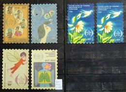 France - 6 Grandes Vignettes Comité Contre La Tuberculose - Commemorative Labels