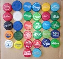 32 PCS UKRAINE Plastic Cap Soda And Mineral Water - Soda