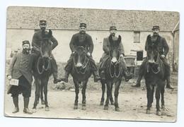 3658 Groupe De Soldats Militaire Cheval Horse 1914 Ecrite Boulet Du 39ème 39 Régiment Artillerie Infanterie Poilus WW1 - Guerre 1914-18