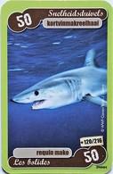 TCG - LES HEROS DE NOTRE PLANETE - 120/216 - Requin Make - Trading Cards