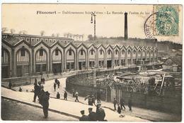 Flixecourt / Saint Frères / La Rentrée à L'Usine Du Bas / 1906 - Flixecourt