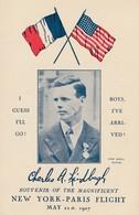 Charles Lindbergh - Souvenir Of The Magnificent 1927 - Aviateurs