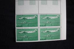 FRANCE POSTE AERIENNE N°60 50F DEVOITINE 338 BLOC DE 4 NEUF** - 1960-.... Postfris
