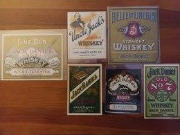 ETICHETTE JACK DANIEL - Whisky