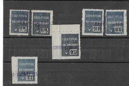 ALGERIE Colis Postaux N°145 à 150** (6valeurs) Neufs Sans Charnière - Algérie (1924-1962)