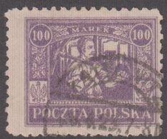 1923. Ostoberschlesien. Regular Issue 100 MAREK.  (Michel 18) - JF360697 - Silesia (Lower And Upper)