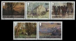 Isle Of Man 2012 - Mi-Nr. 1757-1761 ** - MNH - Gemälde - Hoggatt - Isle Of Man