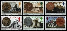 Isle Of Man 2010 - Mi-Nr. 1621-1626 ** - MNH - Münzen / Coins - Isle Of Man