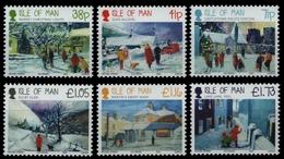 Isle Of Man 2012 - Mi-Nr. 1808-1813 ** - MNH - Weihnachten / X-mas - Isle Of Man