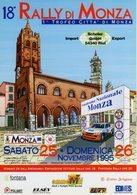 RALLY - RALLIE - MONZA RALLY SHOW 1995 - AUTODROMO NAZIONALE MONZA - FG - N 006 - Rally