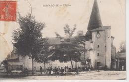 CPA Biscarosse (erreur Pour Biscarrosse) - L'église (très Belle Animation) - Biscarrosse