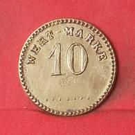 GERMANY 10 PFENNIG 1871-1948 - WERT-MARKE       - (Nº35212) - Monedas/ De Necesidad