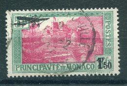 Monaco - Yvert PA 1 Obl. - Poste Aérienne