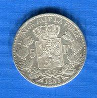 5  Fr  1853 - 1831-1865: Leopold I