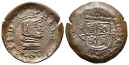 FELIPE IV. 8 Maravedís. 1661. Sevilla R. Falsa De época. J.S. Página 475. Ae. 1 - Provincial Currencies