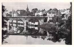 ** Lot De 2 Cartes ** 36 ST GAULTIER CPSM Village (1.820 H ) Dentelée Noir Blanc Format CPA 1940-50's - Indre ( Berry ) - France