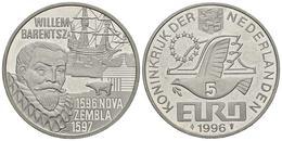 HOLANDA. 5 Euro. 1996. WILLEM BARENTSZ. CuNi. 15,37g. SC. - Other