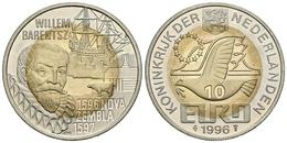 HOLANDA. 10 Euro. 1996. WILLEM BARENTSZ. CuNi, La. 10,40g. SC. - Other