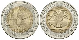 HOLANDA. 10 Euro. 1996. CONSTANTIJN HUYGENS. CuNi, La. 10,45g. SC. - Other