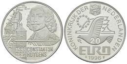 HOLANDA. 20 Euro. 1996. CONSTANTIJN HUYGENS. Ar. 14,99g. PROOF. - Other