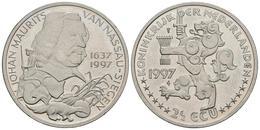 HOLANDA. 2 1/2 Ecu. 1997. JOHAN MAURITS VAN NASSAU-SIEGEN. CuNi. 15,58g. SC. - Other