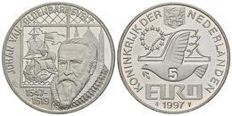 HOLANDA. 5 Euro. 1997. JOHAN VAN OLDENBARNEVELT. CuNi. 15,54g. SC. - Other