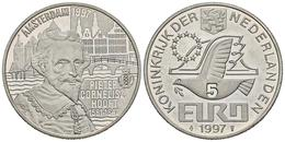 HOLANDA. 5 Euro. 1997. P. C. HOOFT. CuNi. 15,61g. SC. - Other