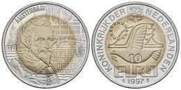 HOLANDA. 10 Euro. 1997. P. C. HOOFT. CuNi, La. 10,44g. SC. - Other