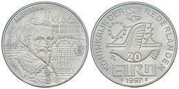 HOLANDA. 20 Euro. 1997. P. C. HOOFT. Ar. 15,01g. PROOF. - Other
