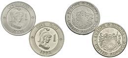 REINO UNIDO. Conjunto De 2 Monedas De 1992, Conteniendo: 1 Ecu Y 1 Ecu (piedfor - Other