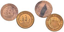 REINO UNIDO. Conjunto De 2 Monedas De 1992, Conteniendo: 1/10 Ecu Y 1/10 Ecu (p - Other