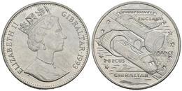 GIBRALTAR. 2.8 Ecu. 1993. EUROTUNNEL. CuNi. 28,71g. SC. - Spain