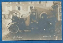 Cliché Scheid VERSAILLES : Militaire, Automobile Blindée, Cliché Pris à Vélisy 1915 ? Voir Autres Clichés Scheid Vendus - Matériel