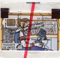 FRANCE F71 LOR.HIS.TEL 120U Tirage 8000ex Cote 110€ Blister Neuf - 1989