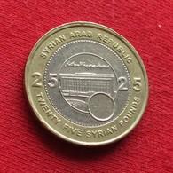 Syria 25 Pounds 2003 KM# 131 Siria Syrie - Syria