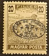 HUNGARY 1919 / ROMANIAN OCCUPATION - MNH - Sc# 2N55 - 20f - Szeged