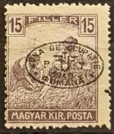 HUNGARY 1919 / ROMANIAN OCCUPATION - MNH - Sc# 2N10 - 15f - Szeged