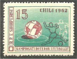 FB-1a Albanie Football Soccer 1962 Chili MNH ** Neuf SC - Albania