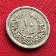 Síria Syria 10 Piastres 1948 KM# 83  Siria Syrie - Syria