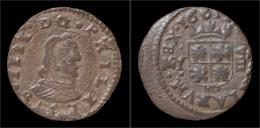 Spain Philip IV 8 Maravedis 1661 - Provincial Currencies