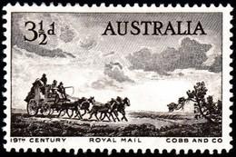 AUSTRALIA - Scott #281 Postal Transportation / Mint H Stamp - Nuovi