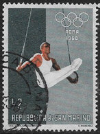 San Marino SG604 1960 Olympic Games 2l Good/fine Used [40/33164/7D] - Oblitérés