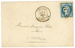 ASSOCIATION GC T18 DORDOGNE ENC MIGNONNETTE 1875 BERGERAC SUPERBE - 1849-1876: Classic Period