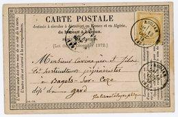 HERAULT CPP 1876 ROUJAN TYPE 16 SUR CERES - FIN DU GC - - 1849-1876: Periodo Classico