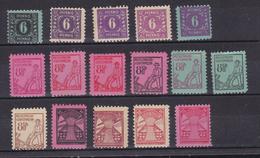 Freimarken 1. Ausgabe überkomplett 16 Verschiedene Marken ** - Soviet Zone